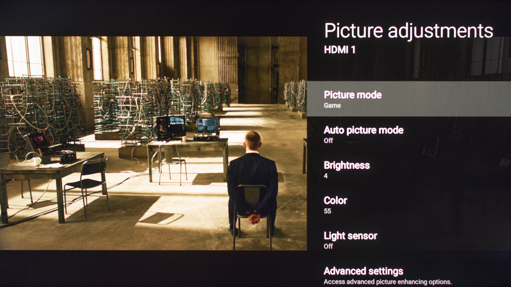 Sony X900E Calibration Settings 8