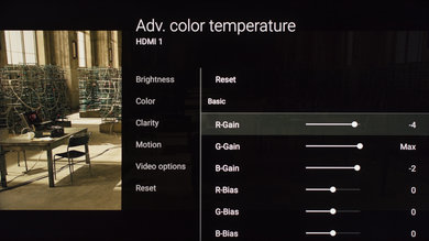 Sony X900E Calibration Settings 9