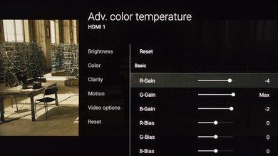 Sony X900E Calibration Settings 9