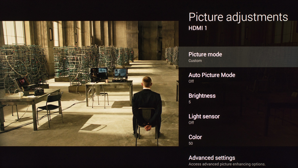 Sony X850C Calibration Settings 1