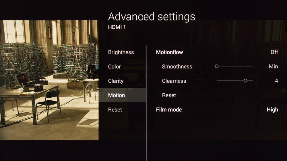 Sony X850C Calibration Settings 3