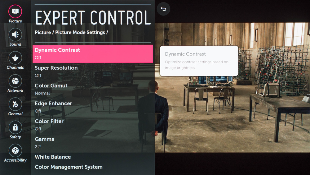 LG E6 Calibration Settings 4