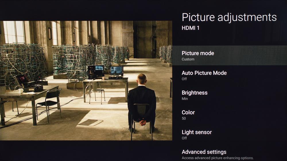 Sony X700D Calibration Settings 1