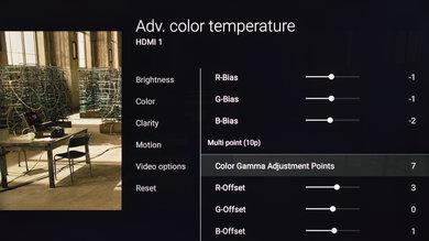 Sony X700D Calibration Settings 11