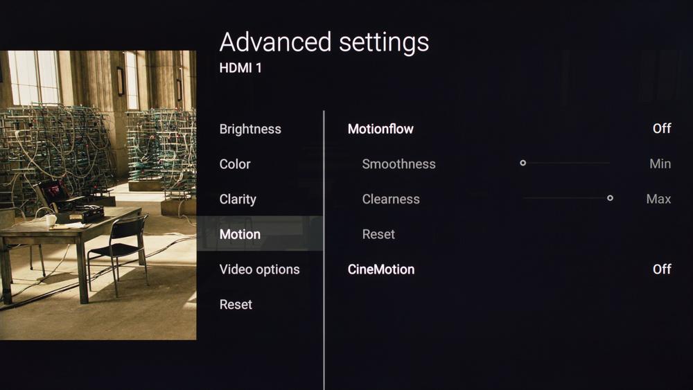 Sony X700D Calibration Settings 16