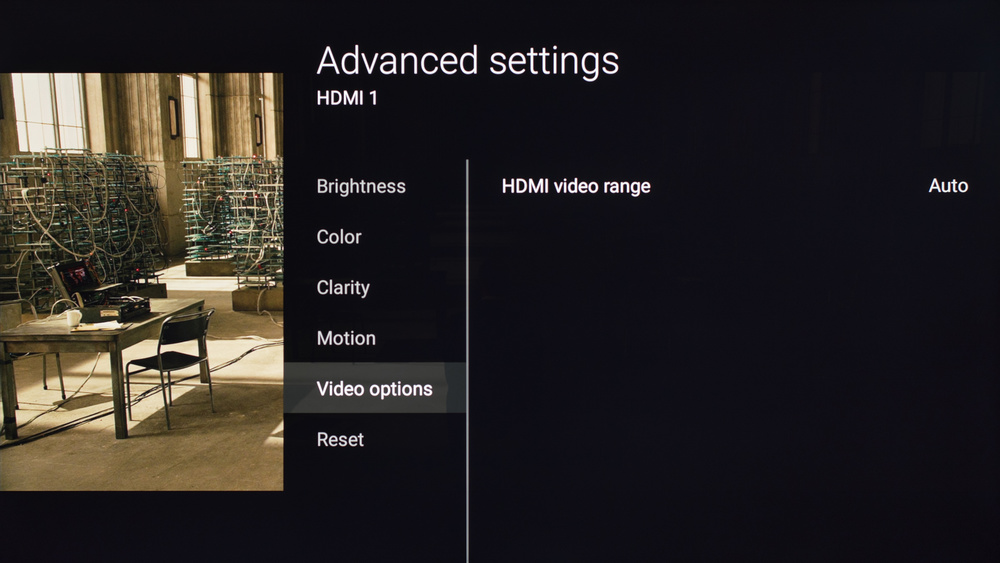 Sony X700D Calibration Settings 17