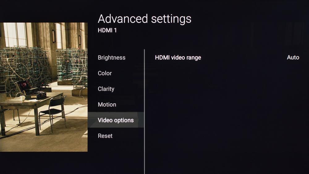 Sony X700D Calibration Settings 17