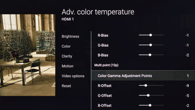 Sony X700D Calibration Settings 5