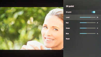Hisense H9G Calibration Settings 46