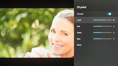 Hisense H9G Calibration Settings 47