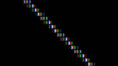 LG uf6800 pixels purple line