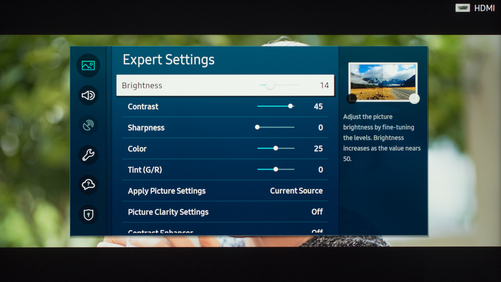 Samsung The Frame 2020 Calibration Settings 13