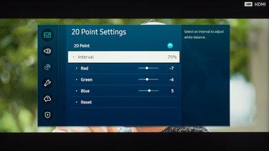 Samsung The Frame 2020 Calibration Settings 39