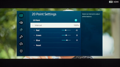 Samsung The Frame 2020 Calibration Settings 44