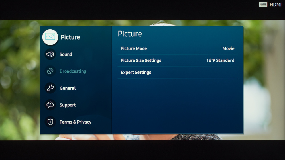 Samsung The Frame 2020 Calibration Settings 7