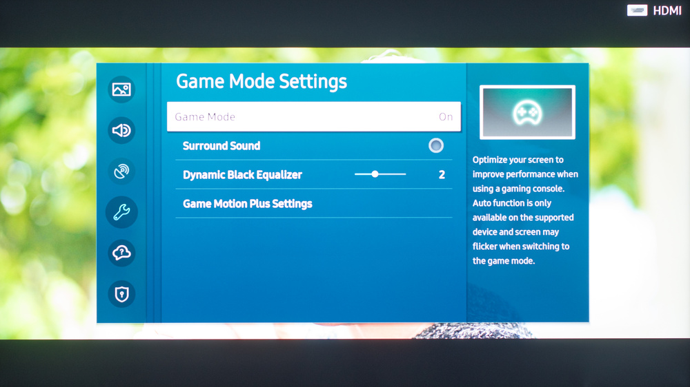 Samsung The Frame 2020 Calibration Settings 70