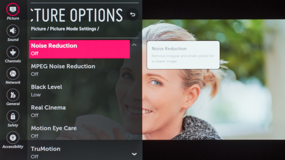 LG B7A Calibration Settings - RTINGS com