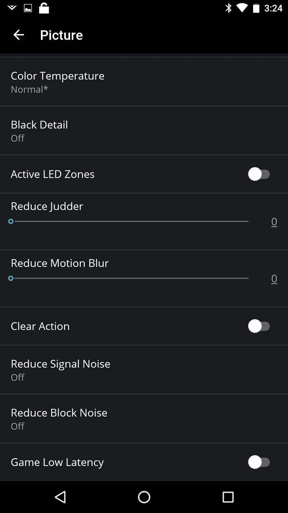 Vizio M Series 2017 Calibration Settings 18