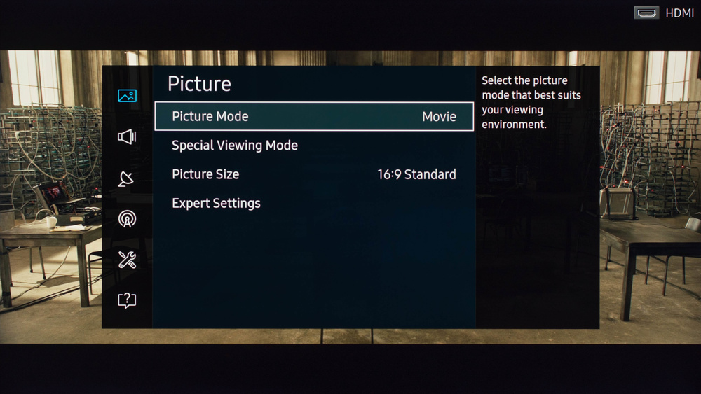 Samsung KU7000 Calibration Settings 1