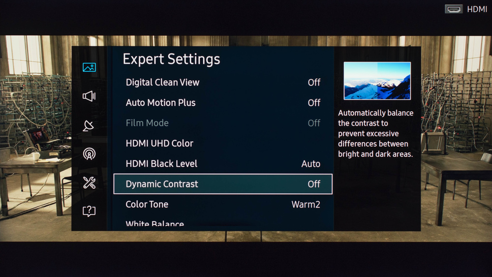 Samsung KU7000 Calibration Settings 3