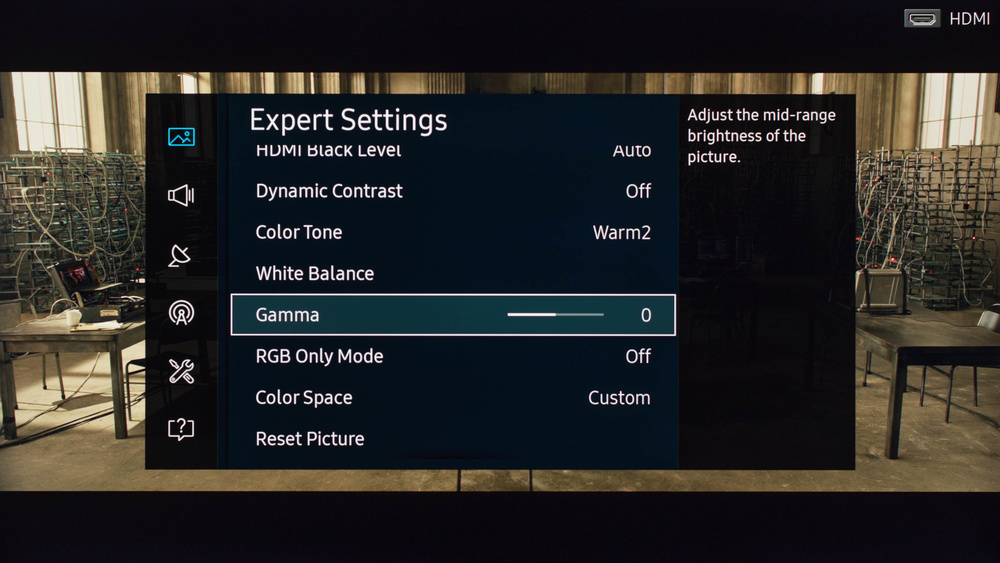Samsung KU7000 Calibration Settings 4