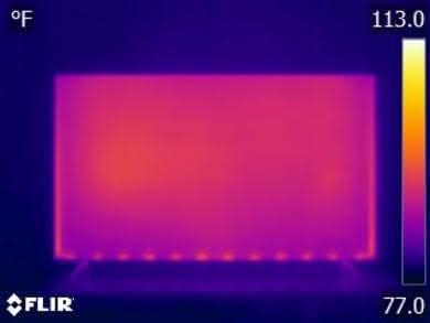 Vizio D Series 4k 2018 Temperature picture