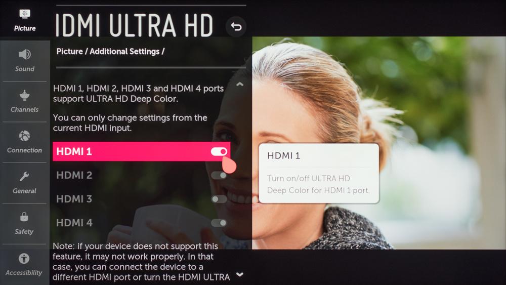 LG UM8070 Calibration Settings 31