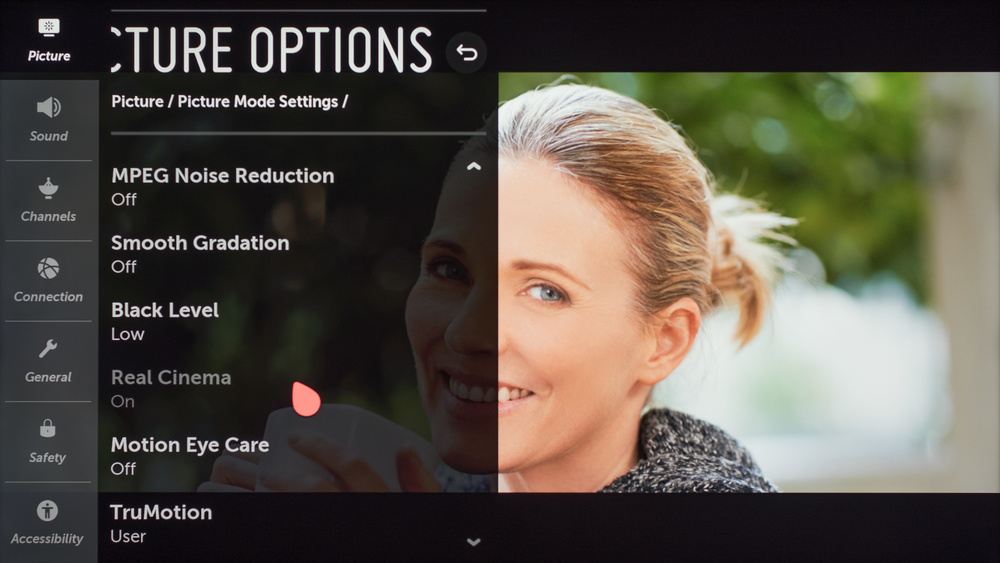 LG UM8070 Calibration Settings 51
