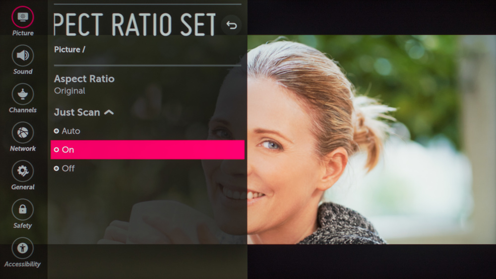 LG SK9000 Calibration Settings 54