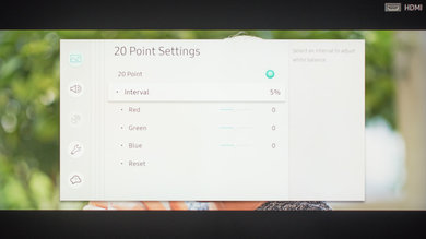 Samsung Q70/Q70R QLED Calibration Settings 14