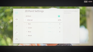 Samsung Q70/Q70R QLED Calibration Settings 26