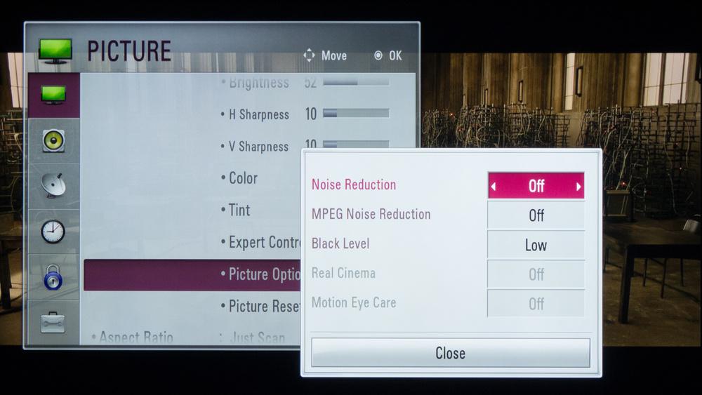 LG LB5900 Calibration Settings 3