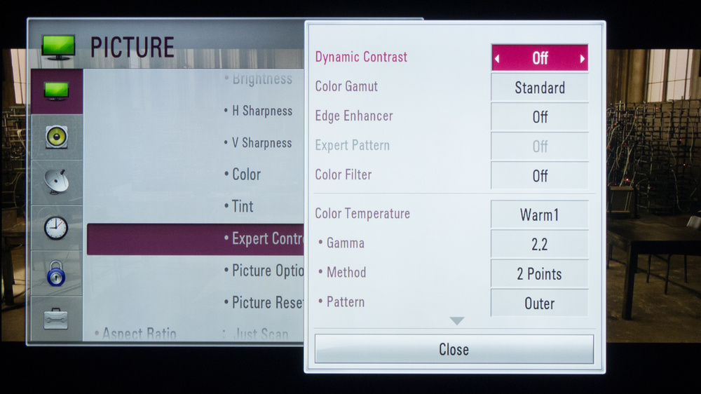 LG LB5900 Calibration Settings 4