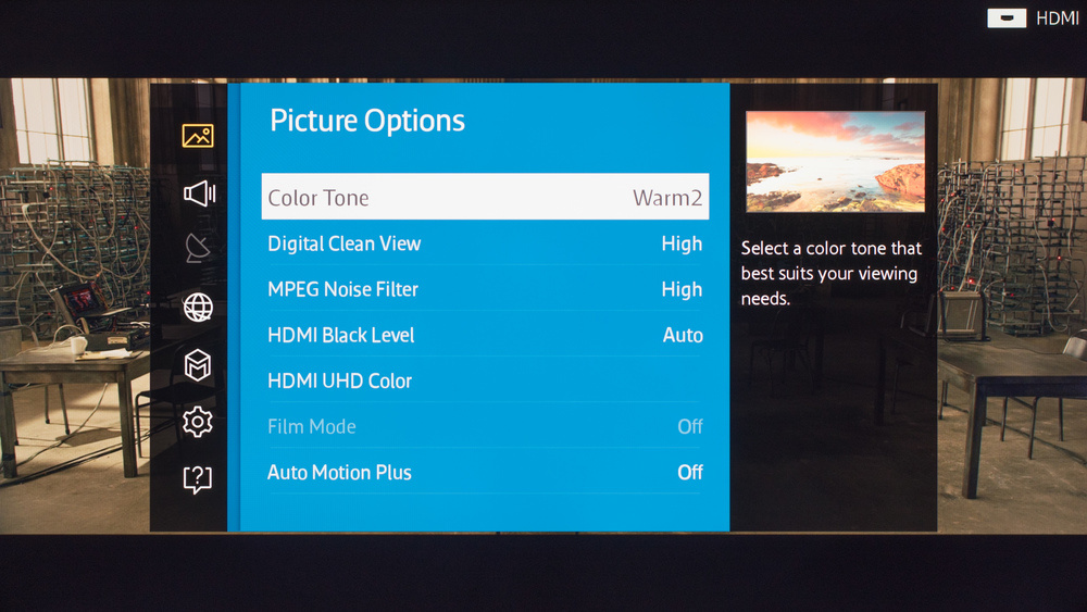 Samsung JU6500 Calibration Settings 2