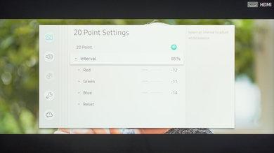 Samsung Q60/Q60R QLED Calibration Settings 40