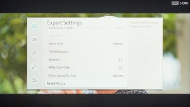 Samsung Q60/Q60R QLED Calibration Settings 47