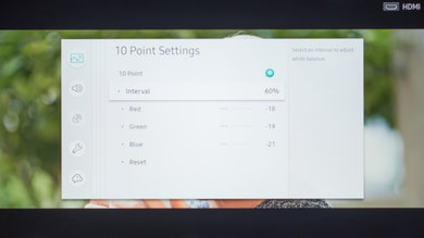 Samsung M5300 Calibration Settings 16