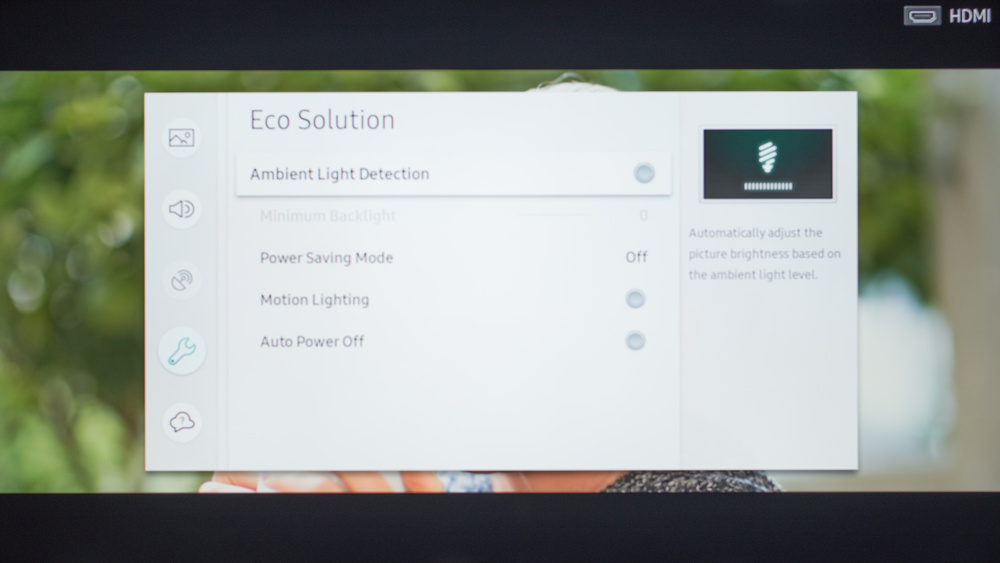 Samsung M5300 Calibration Settings 38