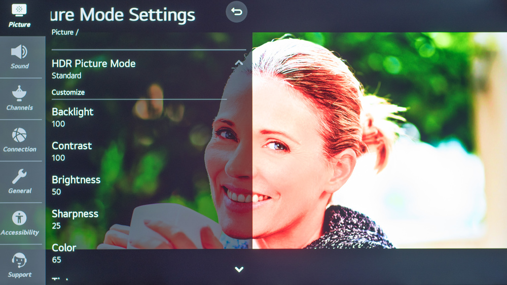 LG NANO85 Calibration Settings 2