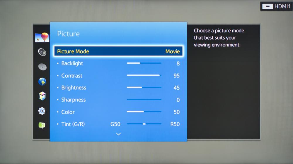 Samsung J5200 Calibration Settings 1
