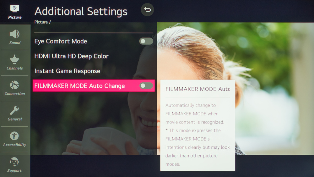 LG NANO81 Calibration Settings 8