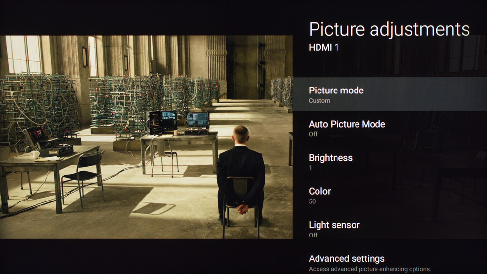 Sony X800D Calibration Settings 1