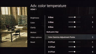 Sony X800D Calibration Settings 12