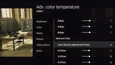 Sony X800D Calibration Settings 12