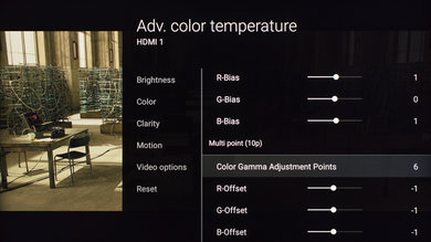 Sony X800D Calibration Settings 13