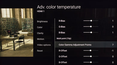 Sony X800D Calibration Settings 14