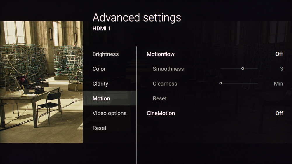 Sony X800D Calibration Settings 5