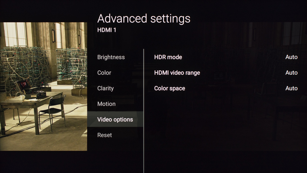 Sony X800D Calibration Settings 6