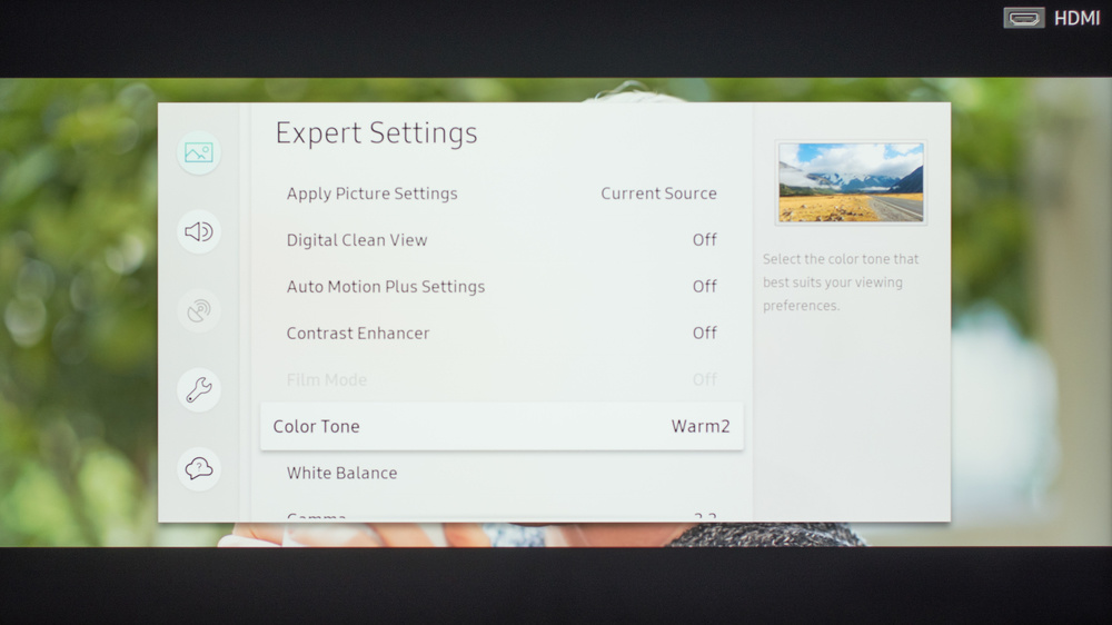 Samsung RU8000 Calibration Settings 13