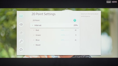 Samsung RU8000 Calibration Settings 20